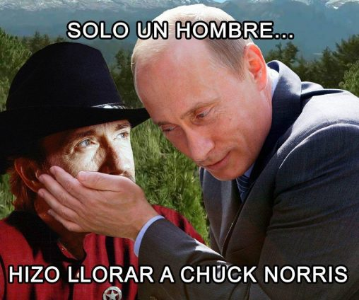 meme putin chuck norris