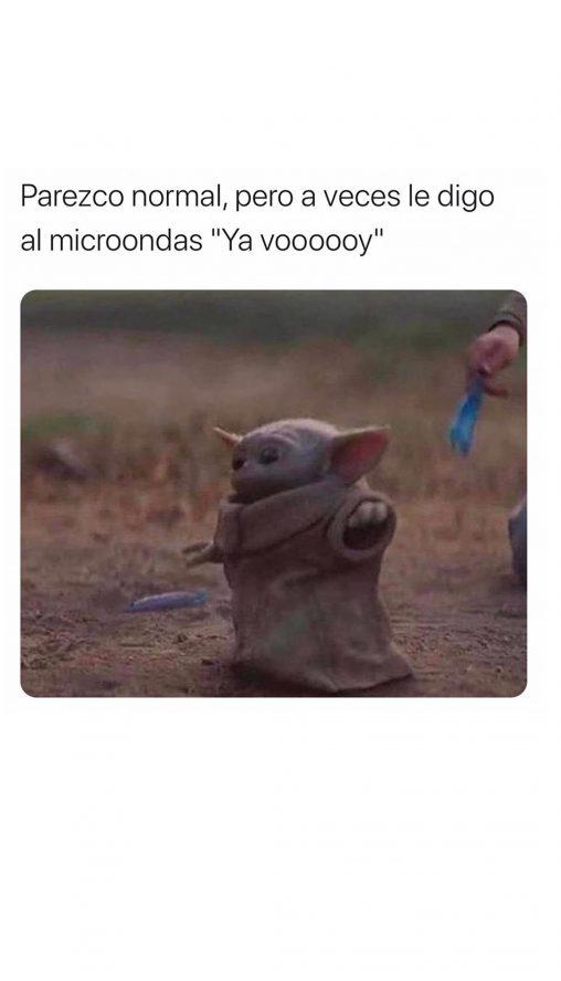ya voy micro meme